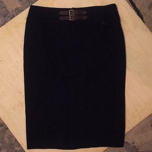 NWOT Ralph Lauren navy pencil skirt Sz 10
